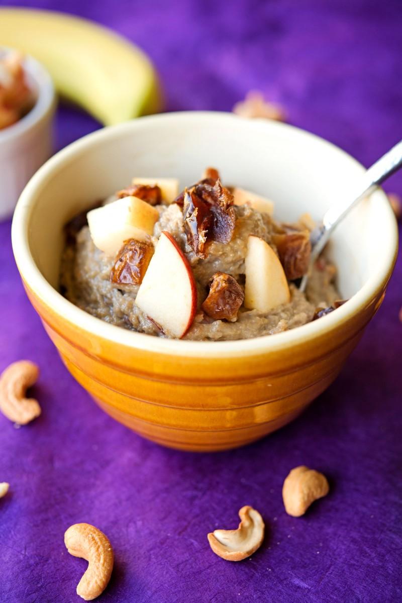 Paleo Cashew Pudding | Garlic, My Soul