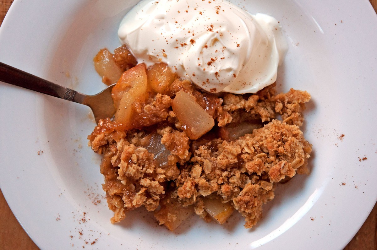 Pear Crisp | Garlic, My Soul
