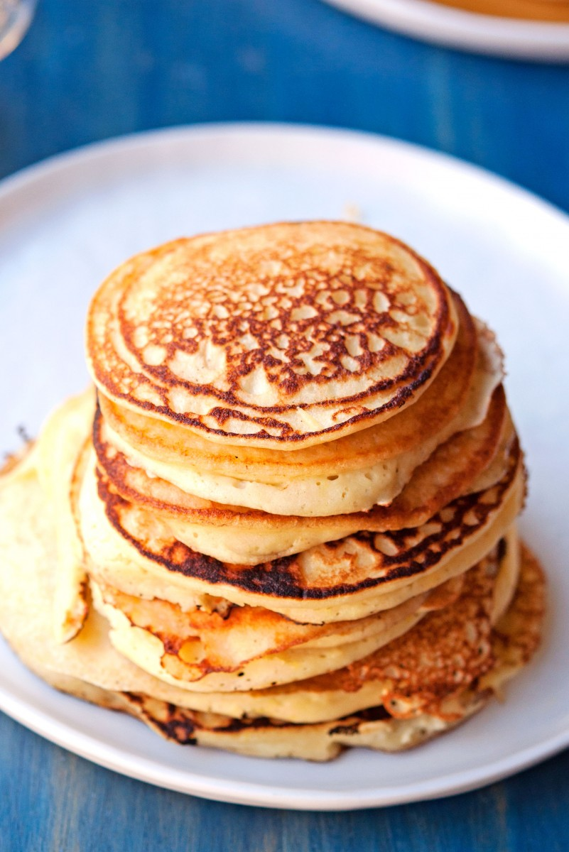 Lemon Ricotta Pancakes | Garlic, My Soul