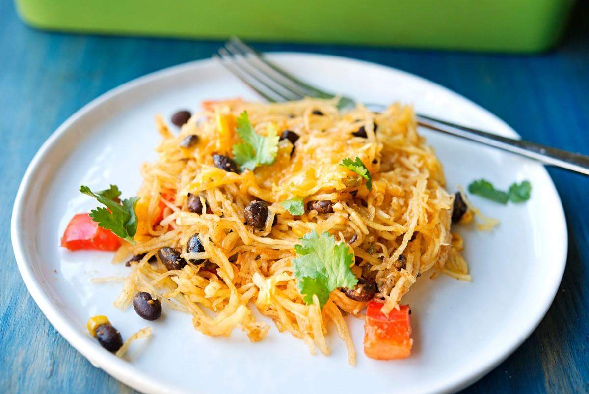 Southwestern Spaghetti Squash | Garlic, My Soul