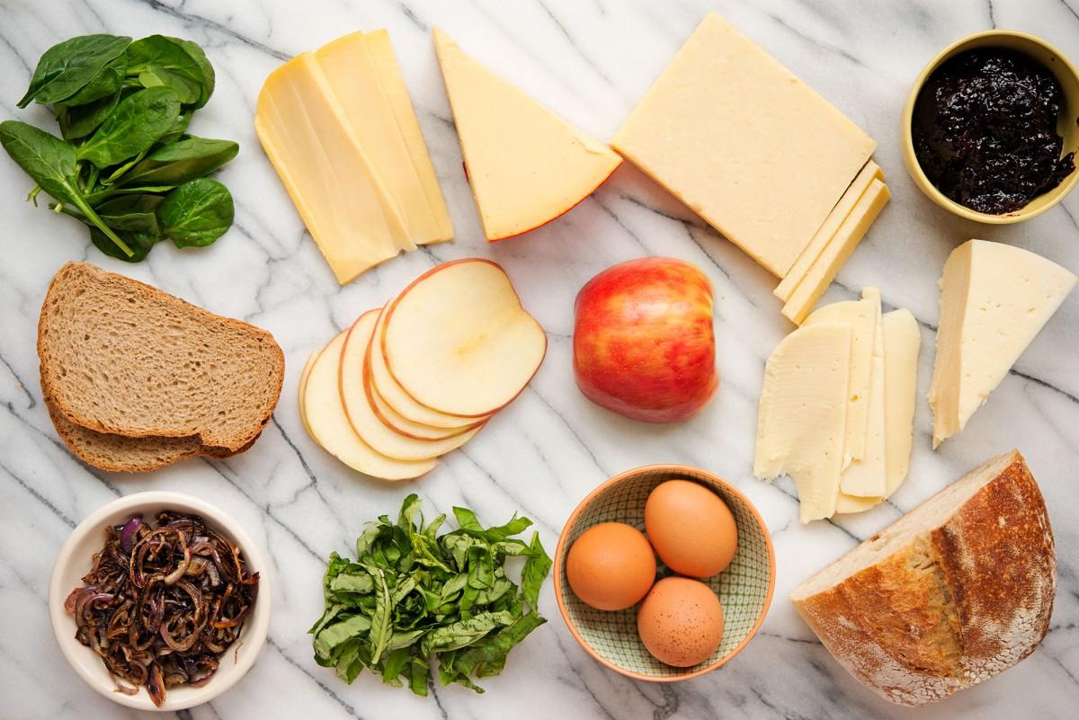 Fontina & Jam Grilled Cheese   Garlic, My Soul