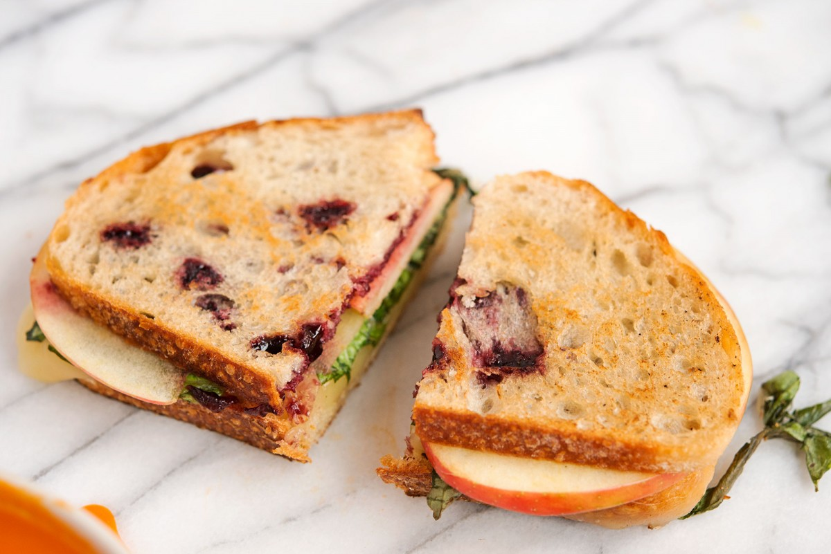 Fontina & Jam Grilled Cheese | Garlic, My Soul