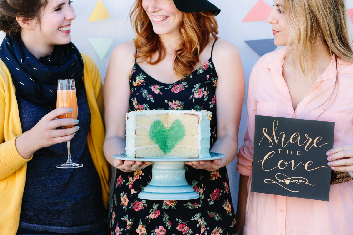 2015 Heart Cake | Mary Costa Photography | Garlic, My Soul