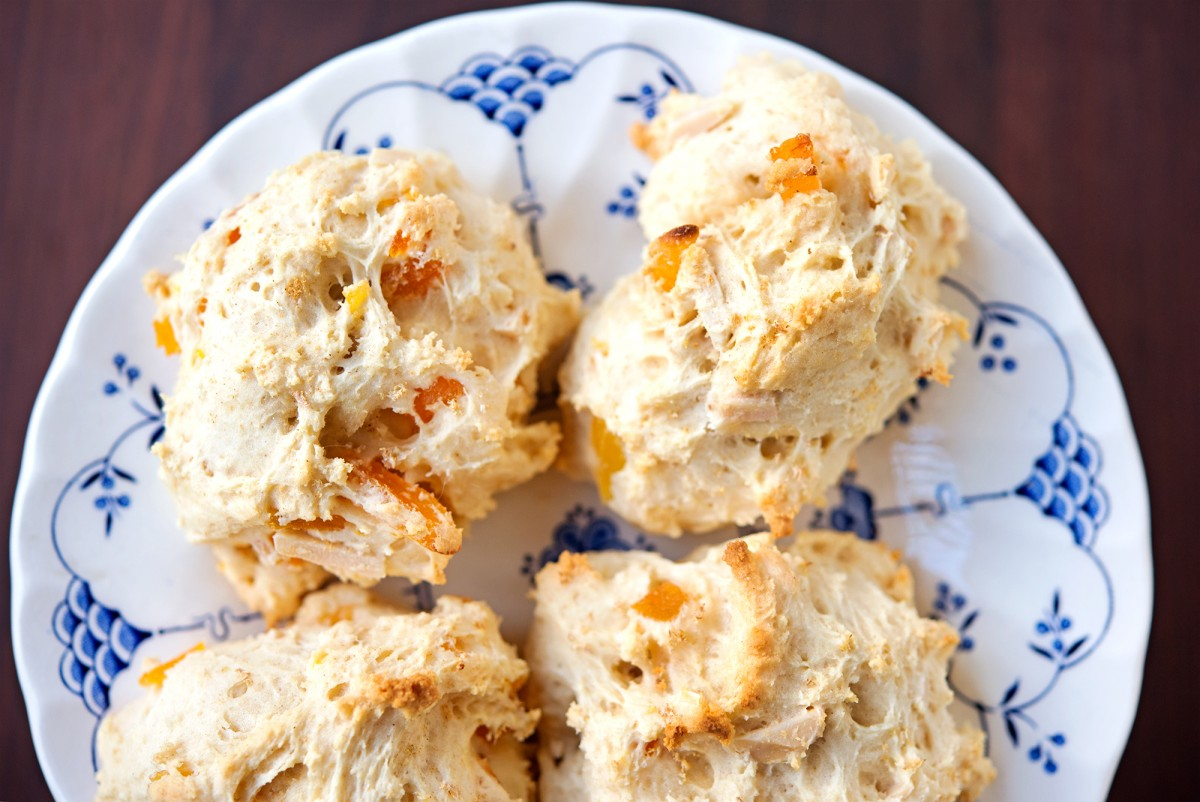 Apricot Almond Ginger Scones | Garlic, My Soul