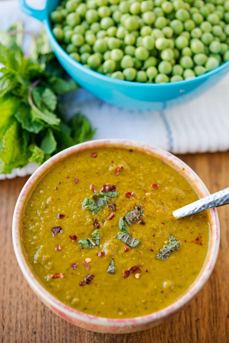 Pea + Mint Soup   Garlic, My Soul