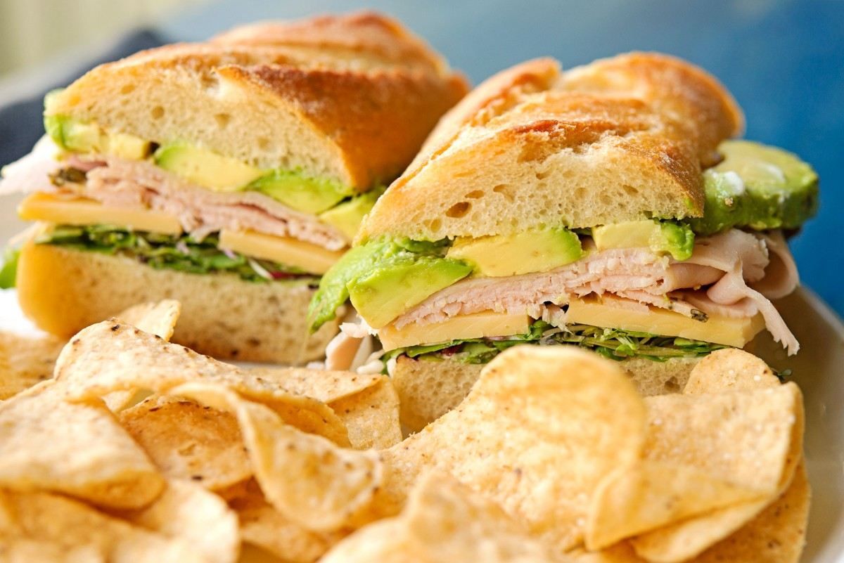 Perfect Turkey Sandwich | Garlic, My Soul