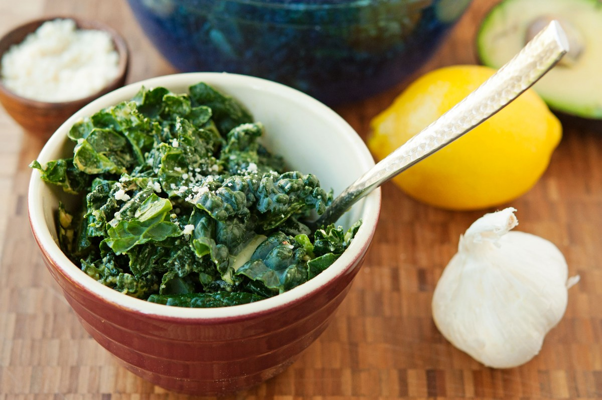 Ana's Kale Salad | Garlic, My Soul