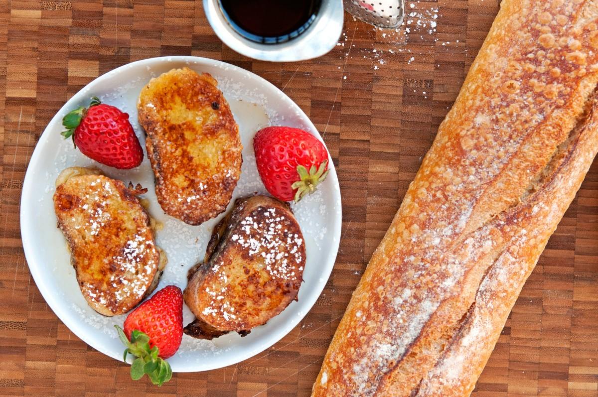 Sourdough French Toast Bites   Garlic, My Soul