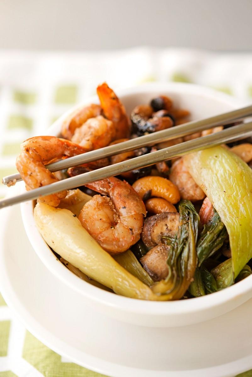 Paleo Cashew Stirfry | Garlic, My Soul