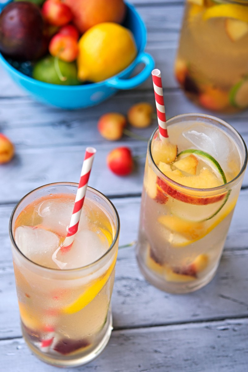 White Wine Sangria | Garlic, My Soul