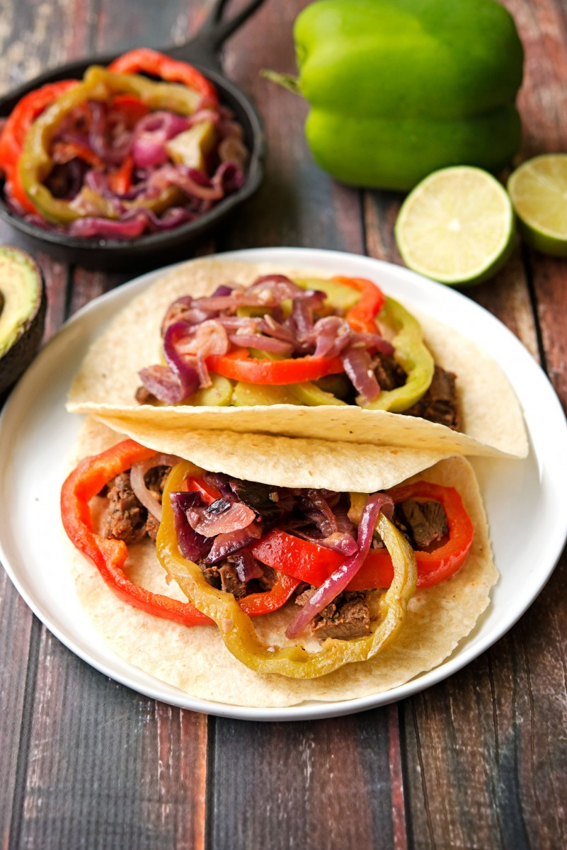 Steak Fajitas | Garlic, My Soul