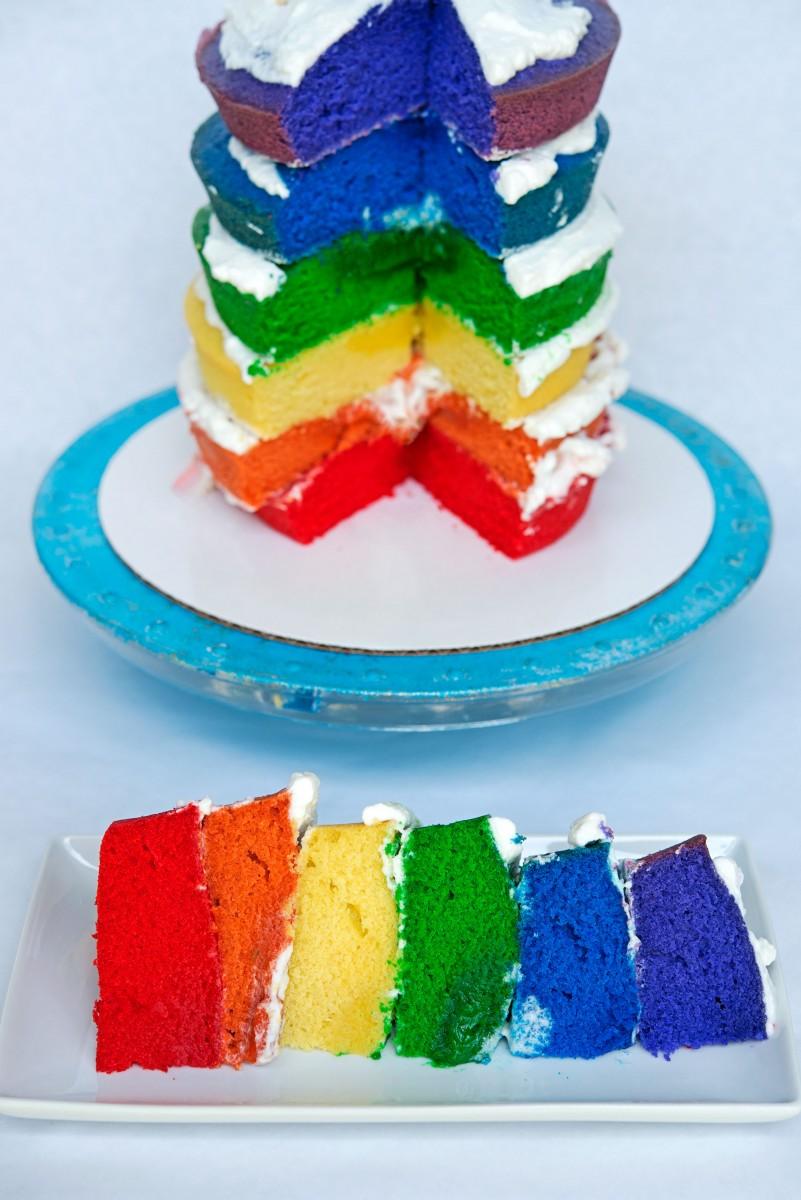 Pride Cake | Garlic, My Soul