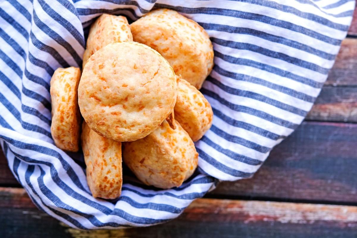 KAF Cheddar Biscuits | Garlic, My Soul