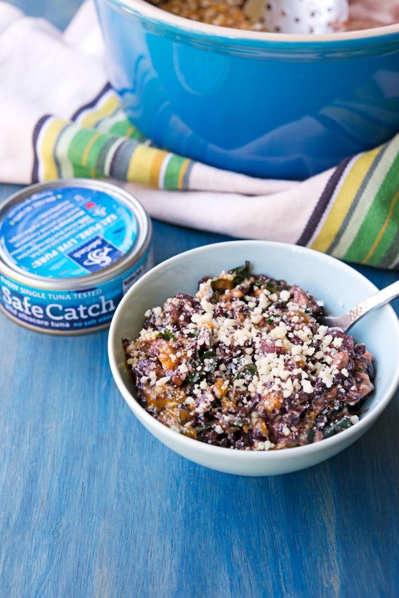 Tuna Black Rice Casserole | Garlic, My Soul