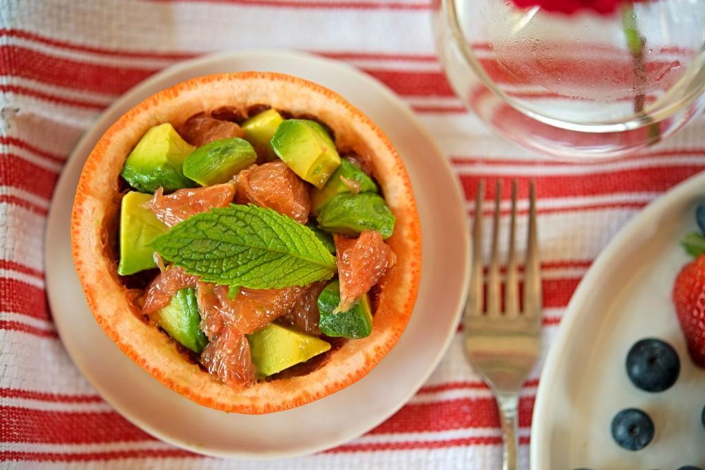 Grapefruit & Avocado Salad | Garlic, My Soul