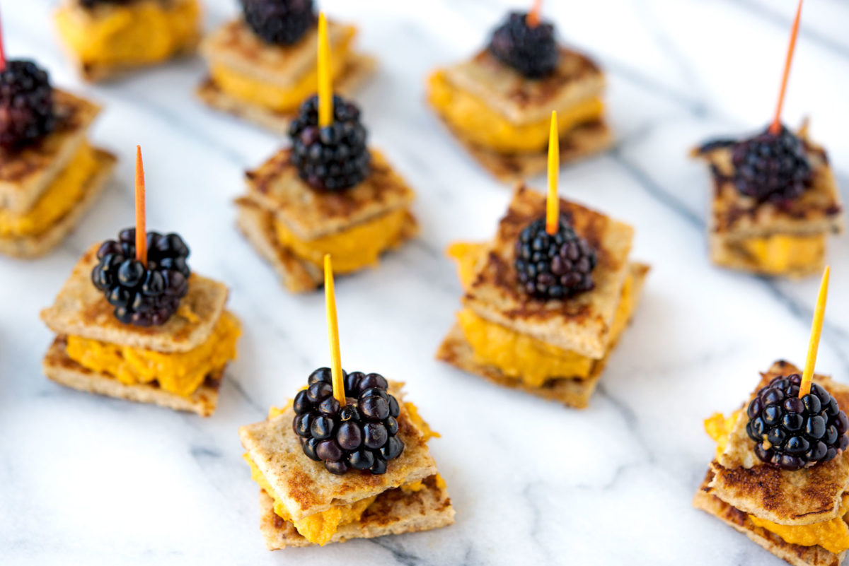 Pumpkin Blackberry Bites | Garlic, My Soul