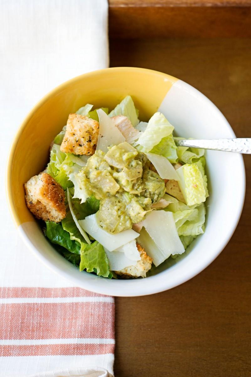 Spicy Mexican Chicken Caesar Salad | Garlic My Soul