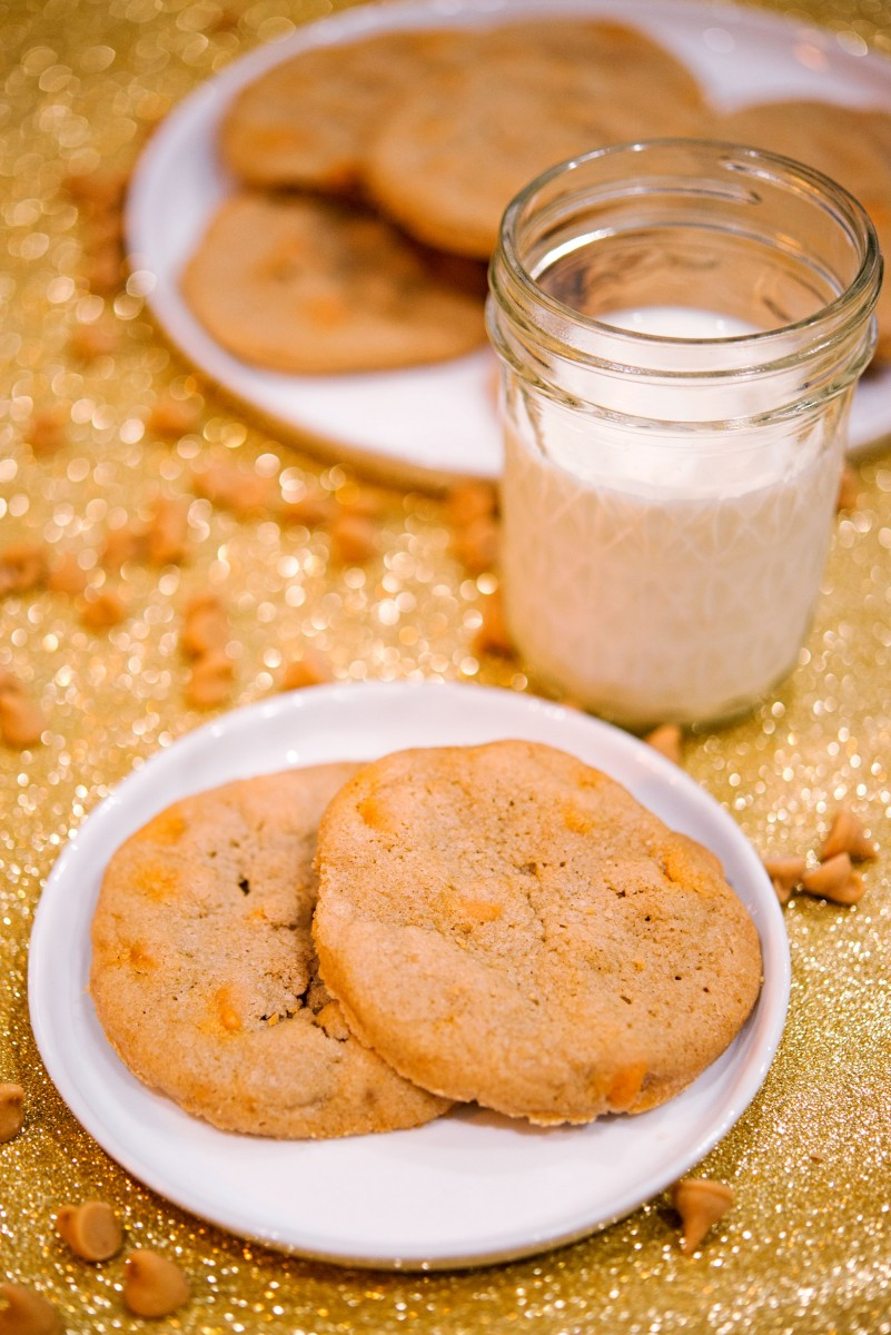 Chewy Butterscotch Cookies | Garlic, My Soul