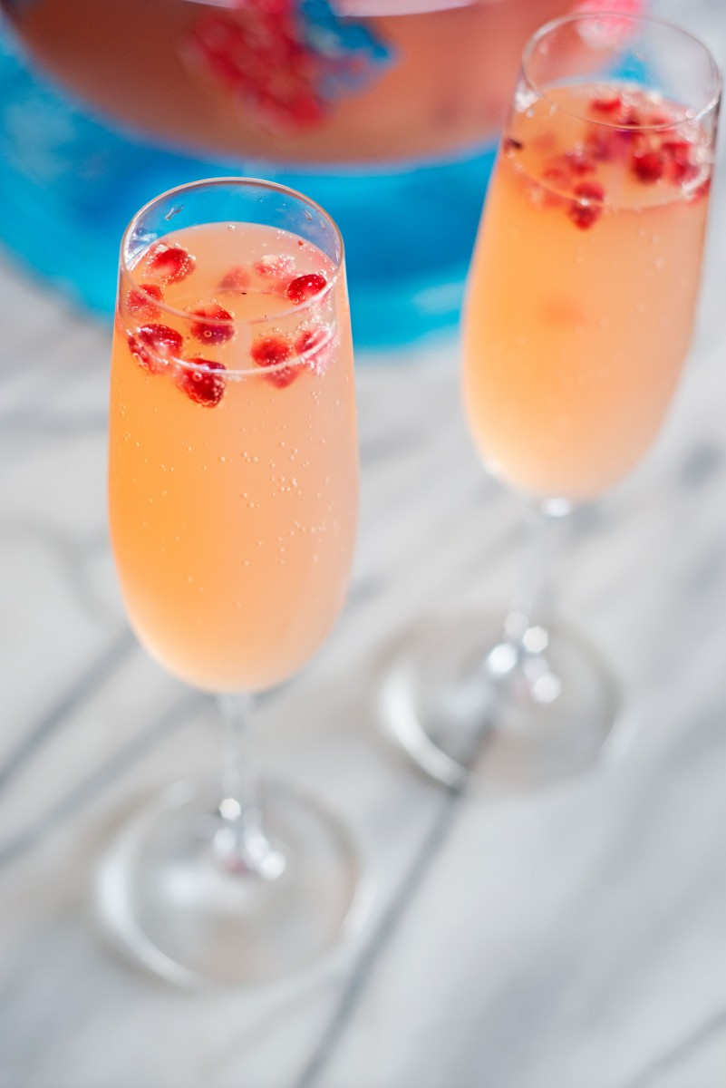 Apple Cider Champagne Punch | Garlic, My Soul