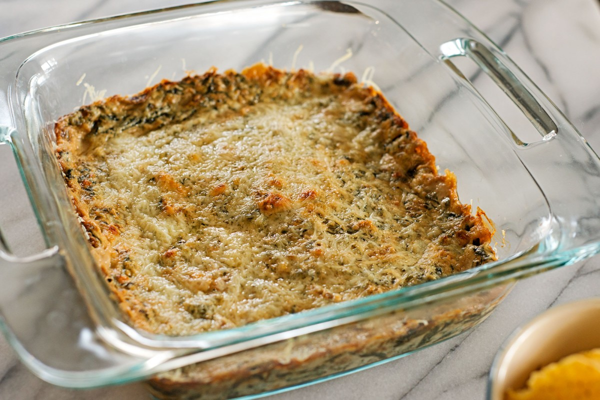 Cheesy Spinach Dip | Garlic, My Soul