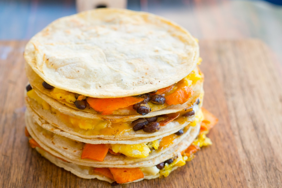 Breakfast Quesadillas | Garlic, My Soul