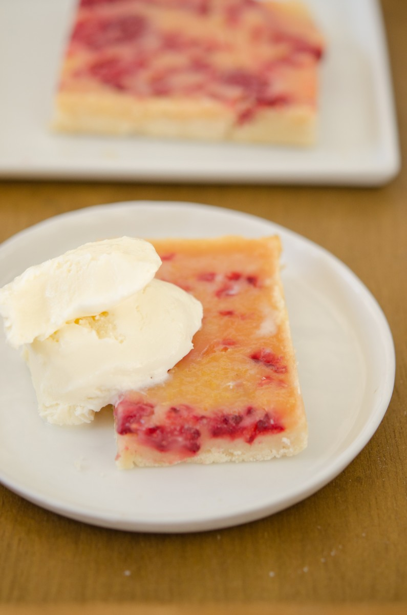 Raspberry Lemon Bars | Garlic, My Soul