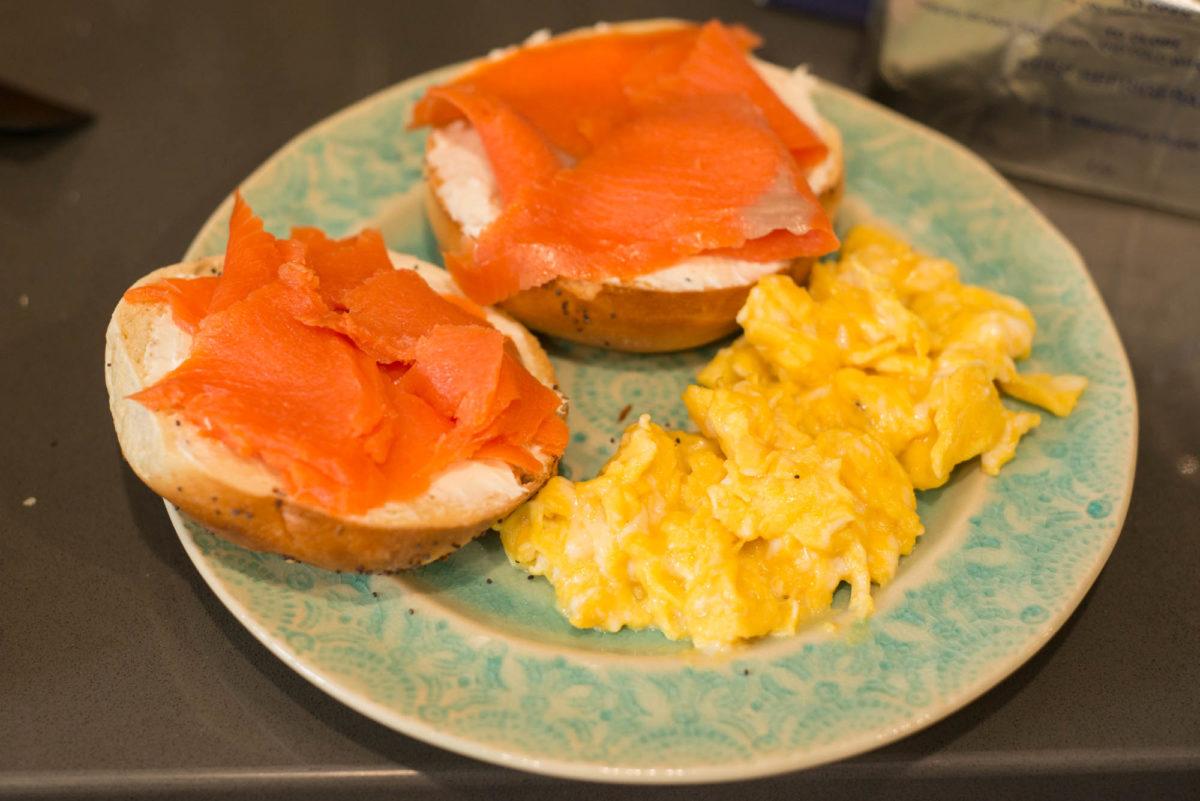 Smoked Salmon Bagels | Garlic, My Soul