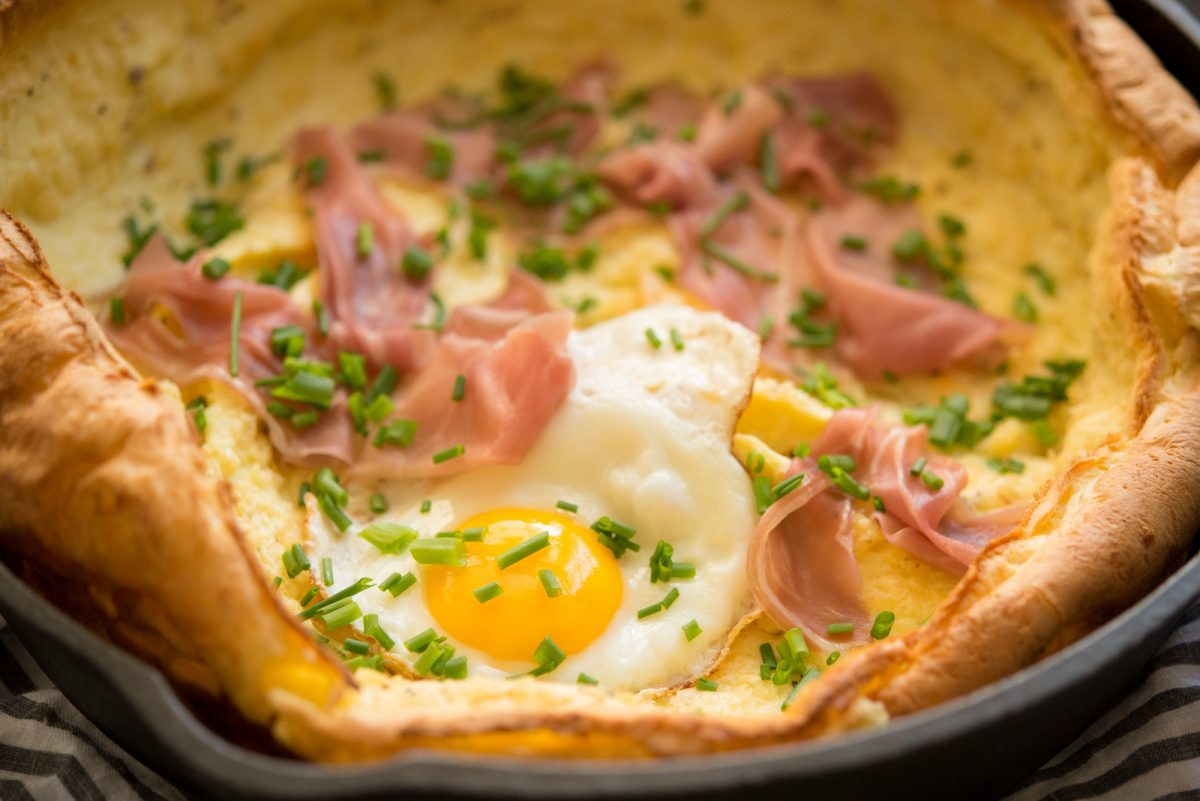 Savory Dutch Baby | Garlic, My Soul