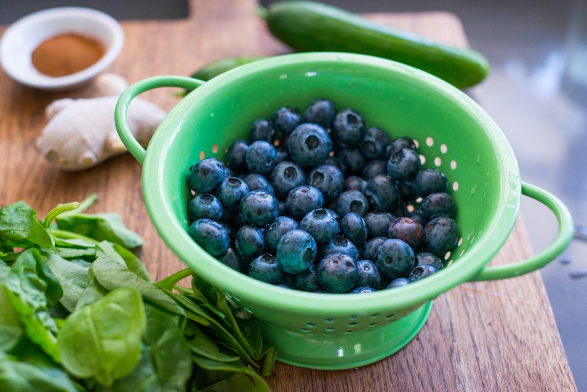 Blueberry Cucumber Smoothie   Garlic, My Soul