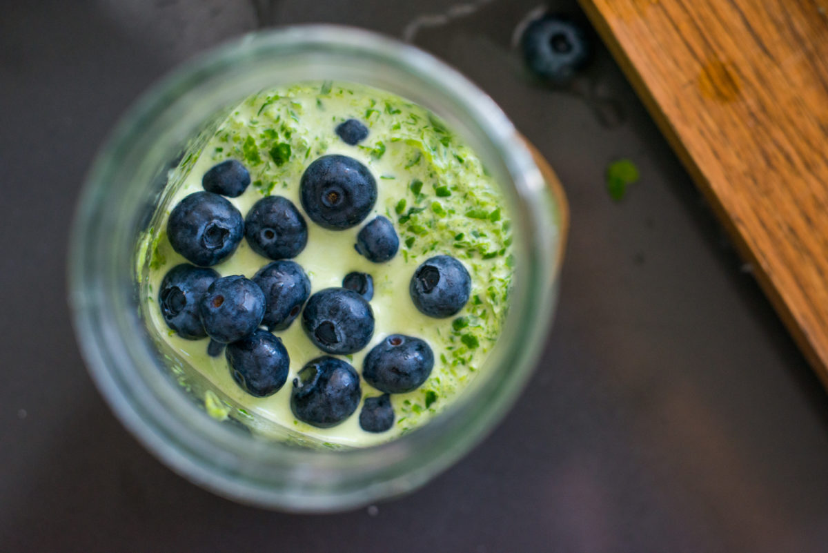 Blueberry Cucumber Smoothie | Garlic, My Soul