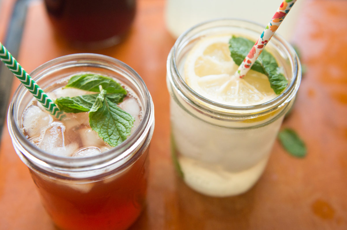 Lemonade and Iced Tea | Garlic, My Soul