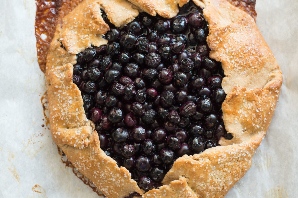 Blueberry Crostata | Garlic, My Soul