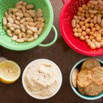 Snacking all the (Garlic & White Bean) Hummus