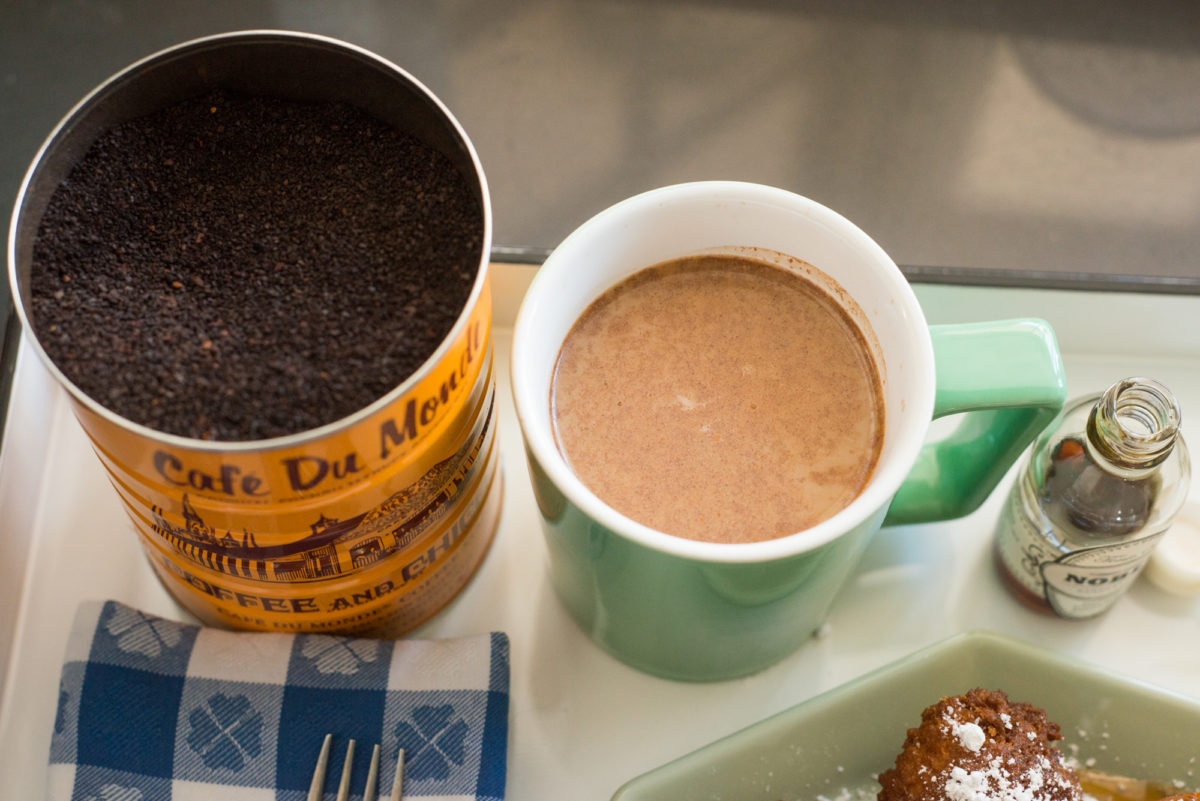 Beignets & Cafe au Lait | Garlic, My Soul