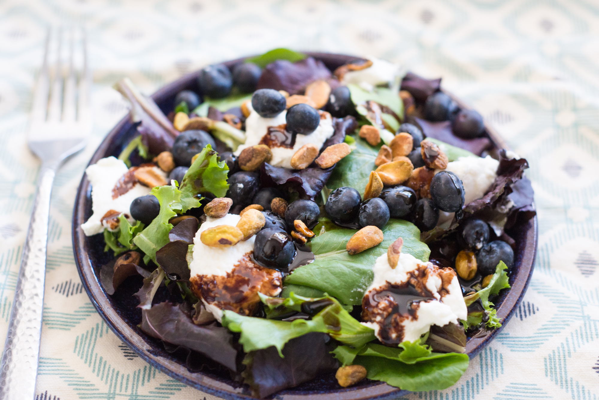 Pistachio Ricotta Salad | Garlic, My Soul